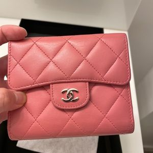 💲8️⃣2️⃣5️⃣Chanel lambskin small wallet